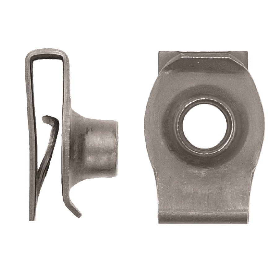 10mm Cage Nut Short Reach Auto Body Clips Direct
